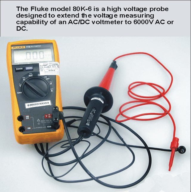 High Voltage Phase Tester : Performance check kits