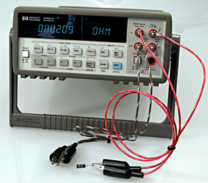 4 wire kelvin testingLow Resistance Connection Testercan Be Used As Cable Or Wire Tester #14