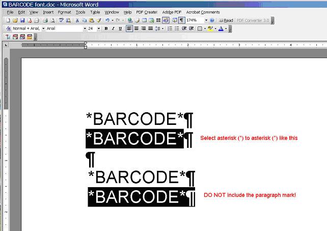 Barcode Font Code 39 Full Ascii Table Extended - godpast