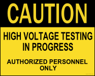 high voltage testing