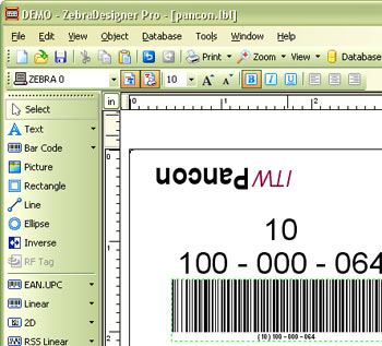 Printing Labels with Cirris Testers